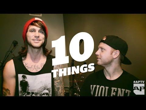 10 Things You Didn't Know about blessthefall