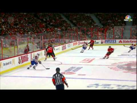Carey Prices robs Kyle Turris w stick save. Montreal Canadiens vs Ottawa Senators April 26 2015
