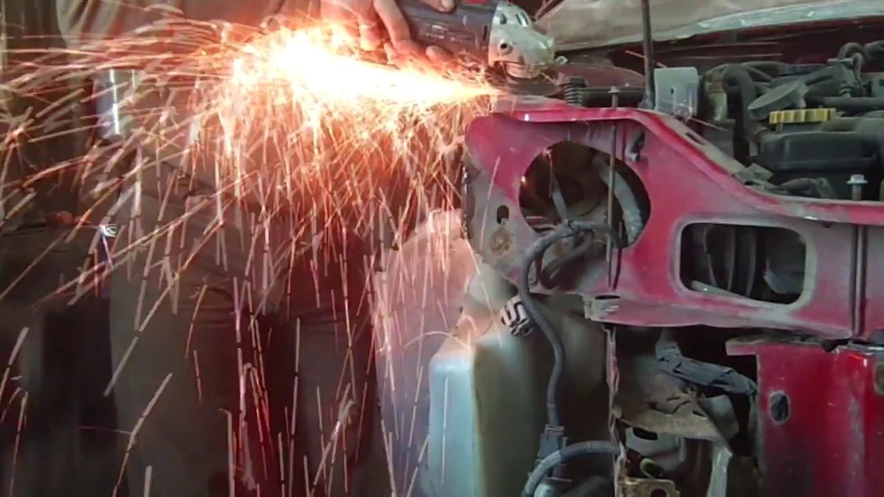 Додж Неон кузовной ремонт часть 2