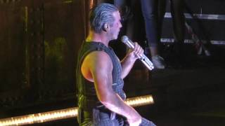 Rammstein 2016-08-27 Wrocław, Capital of Rock, Poland - Sonne (1080/50p)