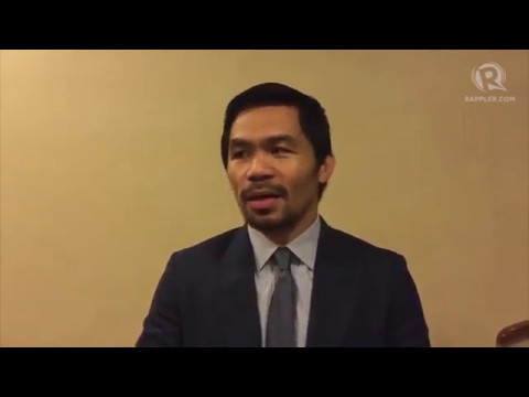 Manny Pacquiao interview on Jeff Horn