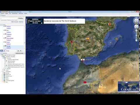 Google Earth na Sala de Aula - Bandeiras Nacionais do The World Factbook