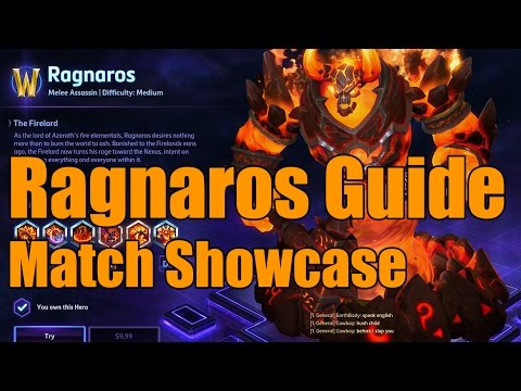 Heroes of the Storm - Ragnaros Guide - Match Showcase