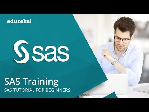 SAS Training | SAS Tutorials For Beginners | SAS Programming | SAS Online Training | Edureka
