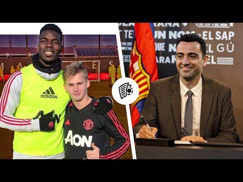 Когда Манчестер Юнайтед подпишет Пиняева? Хави - главный тренер Барселоны? / Трансферы 2020