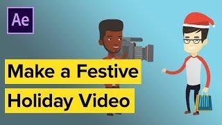 Erstellen Sie ein Promo-Video für den Urlaub mit AE-Vorlagen
