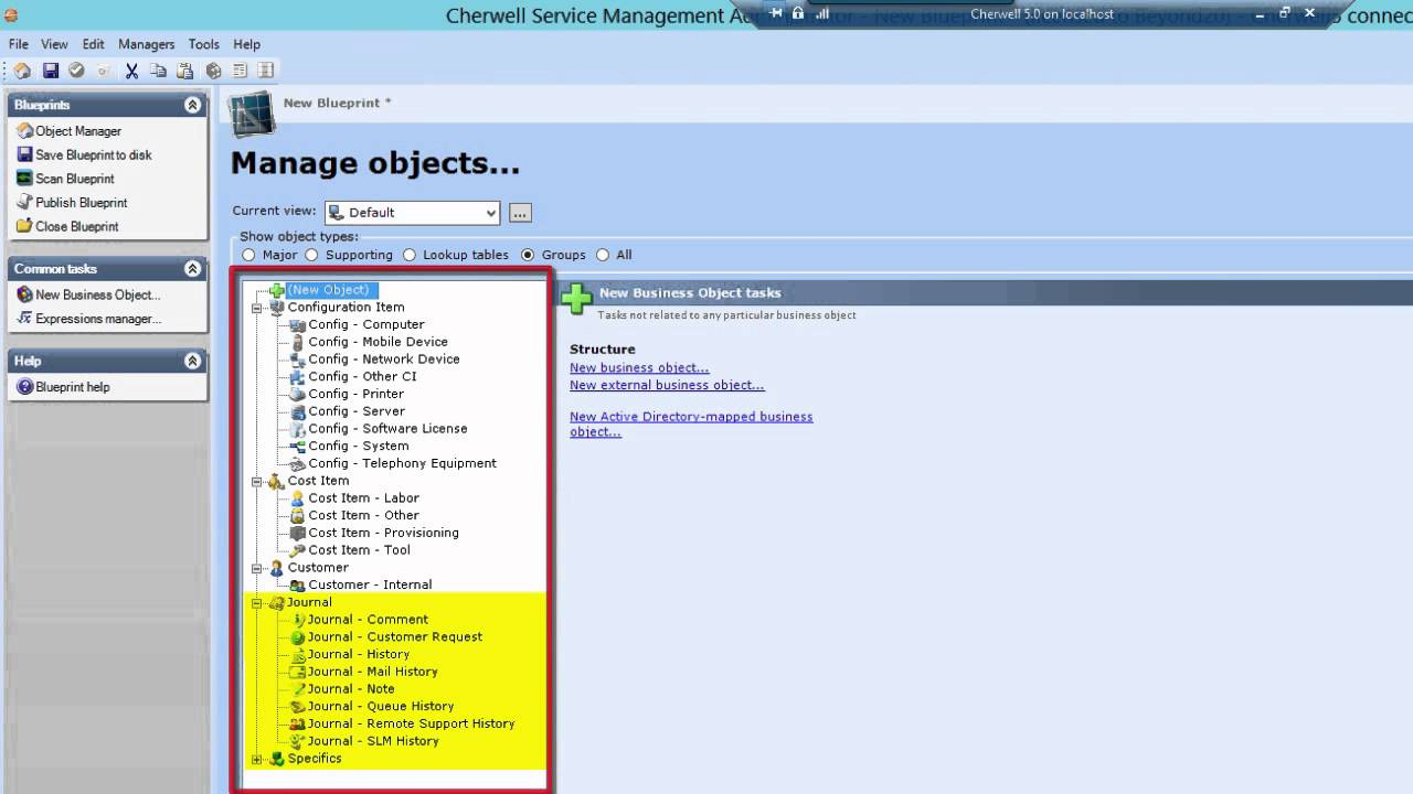 How to use business objects in cherwell youtube malvernweather Images