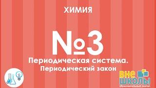 Онлайн-урок ЗНО. Химия №3 Периодическая система. Периодический закон