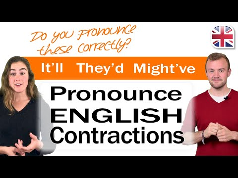 English Contractions - Improve Your Pronunciation of Contractions in English