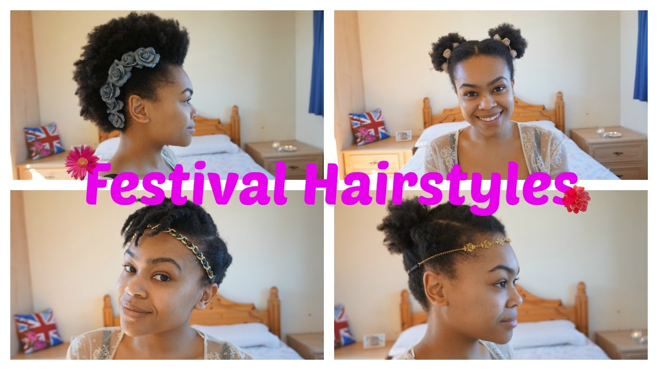 Festival Hairstyle Ideas For Curly Afro Hair
