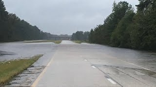 I-95 Shut Down in South Carolina Due to Flooding