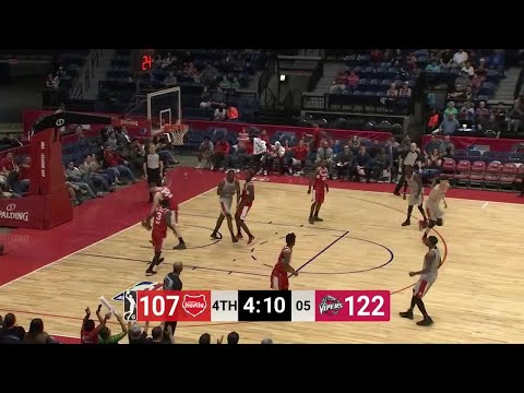 Zhou Qi (18 points) Game Highlights vs. Memphis Hustle