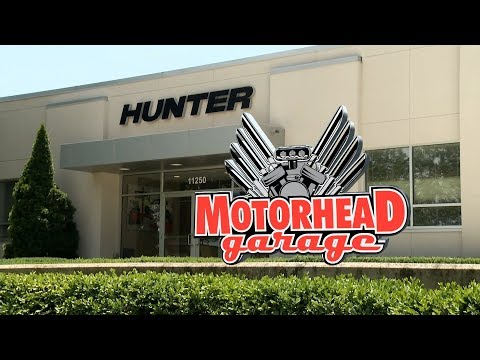Motorhead Garage Visits Hunter Engineering Company