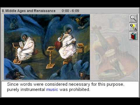Middle ages and Rennaissance Music (Through the Classical Period Part 2)