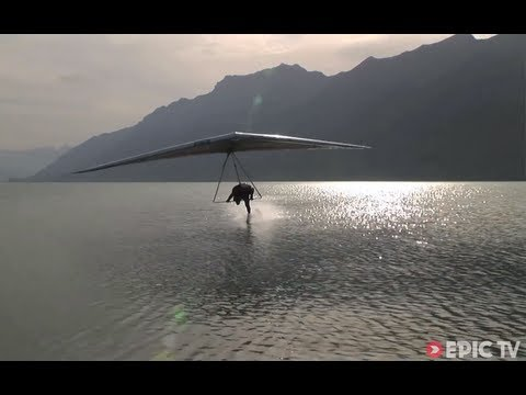 Freestyle Hang Gliding 150km/hr Water Touch | Extreme Diaries with Flo Orley, Ep. 2