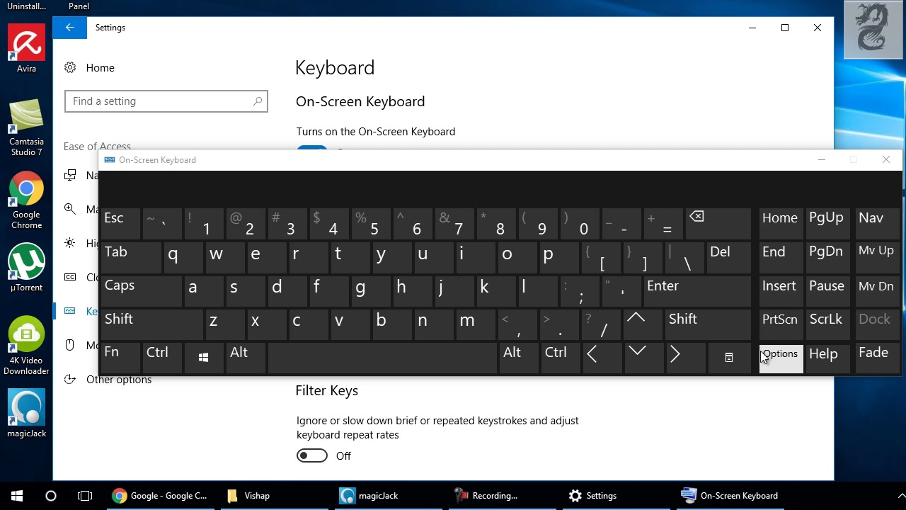 How to Turn Off Click Sound for On-Screen Keyboard on Windows 10