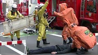 2017年安全安心フェア 3本部機動部隊 NBC災害対応訓練 〈東京消防 3本部機動〉