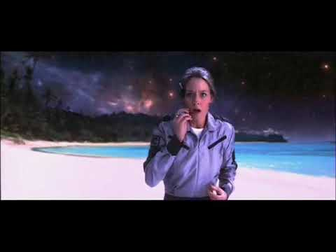 La escena más importante de la película Contacto.
