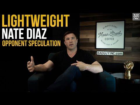 Nate Diaz Returns to Lightweight…?