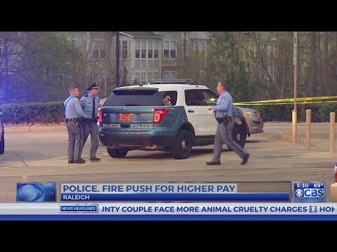 Raleigh police, fire fight for better pay