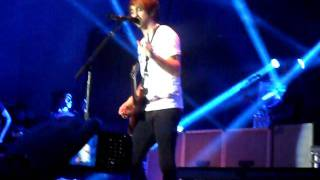 All Time Low - I Feel Like Dancin' (12.01.12) Live at Ulster Hall - Belfast