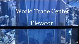 One World Trade Center elevator @ One World Observatory going down - ThyssenKrupp virtual wonkavator