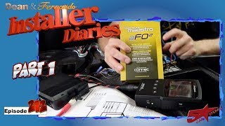 Ford Focus getting  a Rockford DSR1 with a Maestro AR Installer Diaries 212 part1