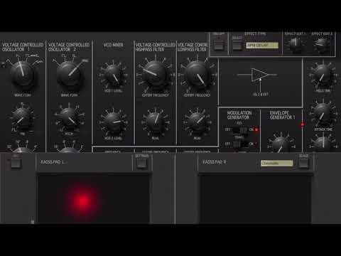 Juggler - Live Jam Korg iMS 20  iPad