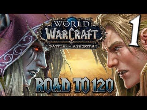 WOW BFA | ROAD TO 120 con Brujo Aflicción...
