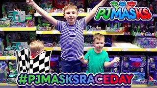 Pj Masks - Pj Masks Race Day At Smyths Toys With Splat Kids Tv!