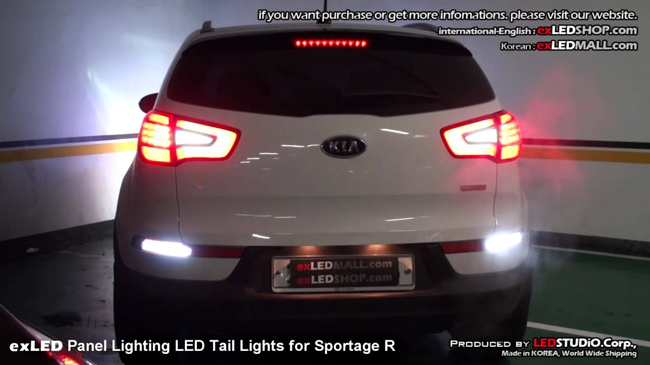 Exled Panel Lighting Led Tail Lights For Sportage R 스포티지