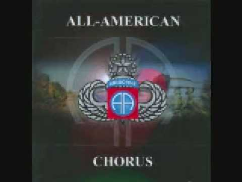 Blood Upon The Risers-82nd Airborne Division All-American Chorus