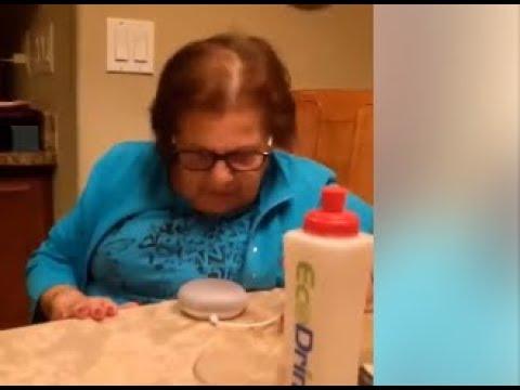 Hey Goo Goo, okay Goo Goo! This Italian Grandma using Google Home is hilarious