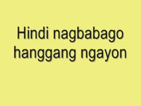 Mula Noon Hanggang Ngayon - Karaoke version in the style ...