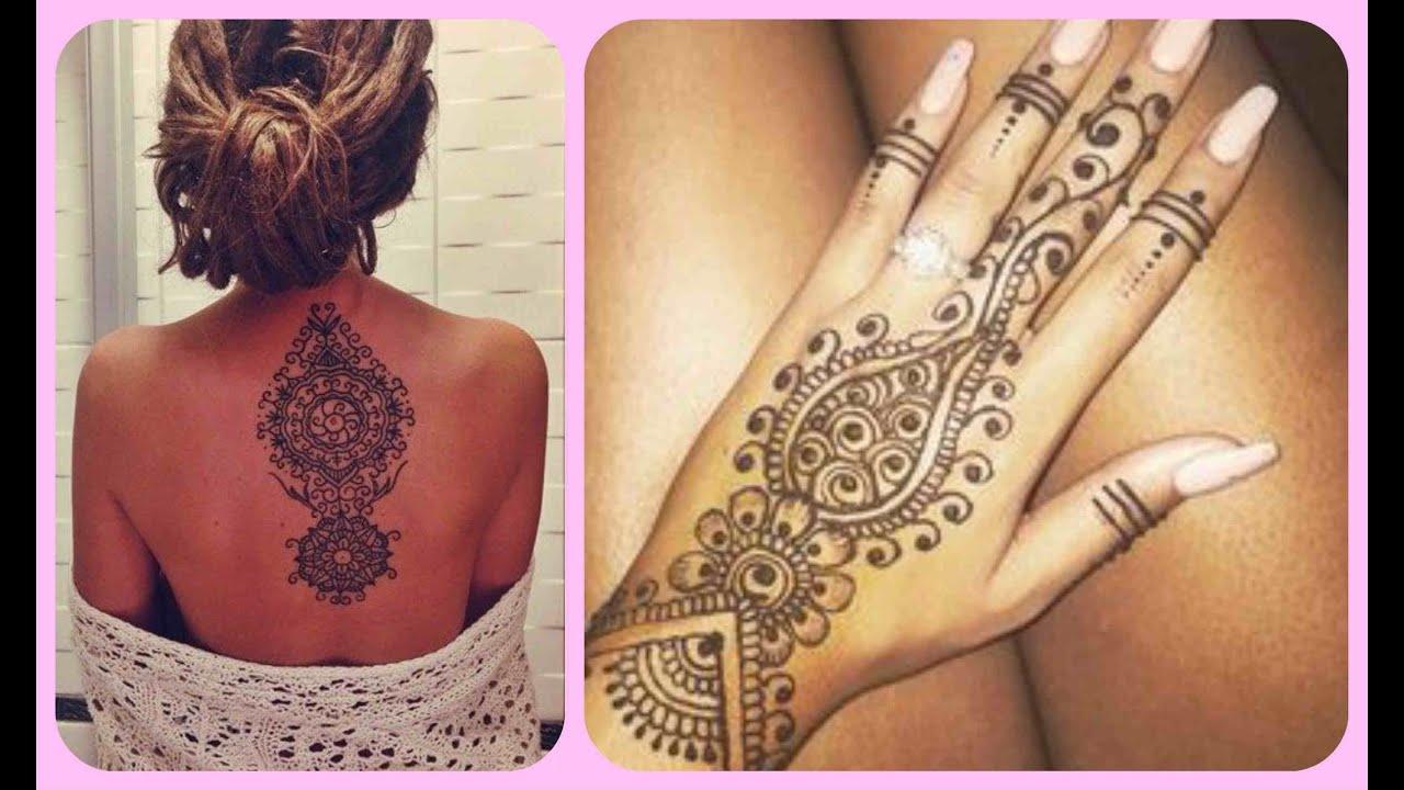 Como Hacer Tatuajes Temporales Caseros Sin Henna Youtube