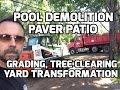 BackYard Patio Landscape Design & Pool Removal in Edina Mn