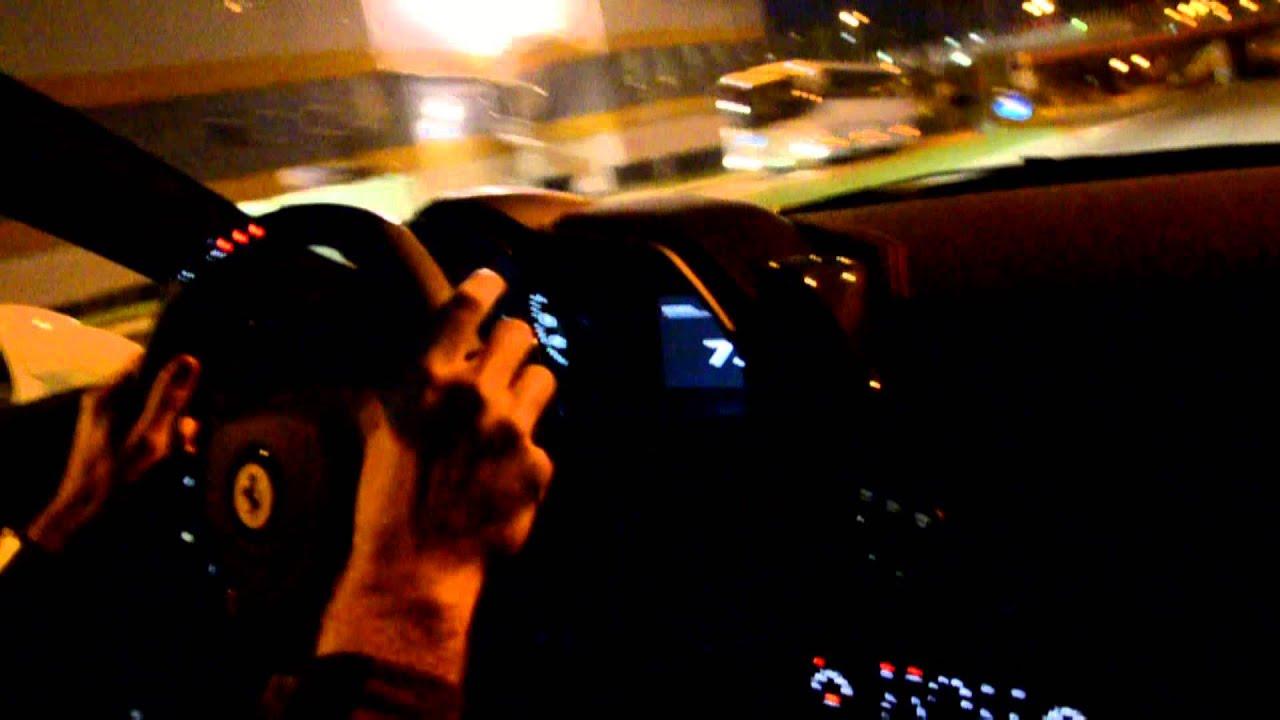 Ferrari 458 Speciale Drive By Night Youtube