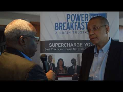 Dale Caldwell Interviewed at the POWER BREAKFAST