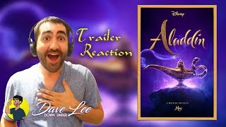Disney's ALADDIN - Teaser Trailer Reaction
