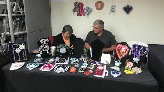 SWAIA 96th Annual Santa Fe Indian Market - Walking Around   Clip 5