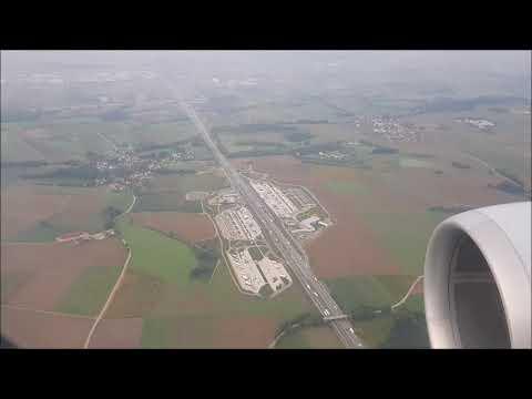 Review: Lufthansa Flug Business Class Hannover München inkl. Landung, August 2018