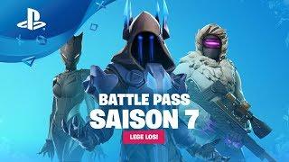 Fortnite: Saison 7 - Battle Pass Trailer [PS4, anglais sous-titres]