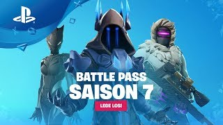 Fortnite: Season 7 - Battle Pass Trailer [PS4, English subtitles]