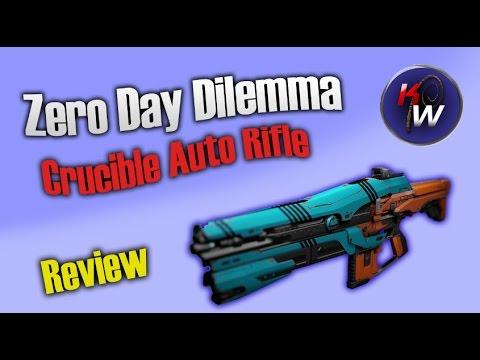 Zero Day Dilemma Review (Crucible Auto Rifle)