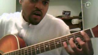 """How to Play """"Lately"""" by Stevie Wonder on Guitar-Lesson 2"""