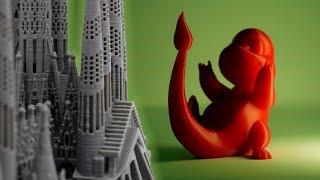 Crazy 3D Prints!  (TimeLapse episode 14)
