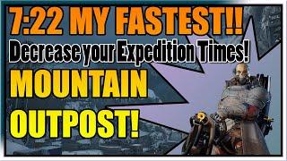 Outriders | CT 15 Technomancer | Speedrun Mountain Outpost 7:22!