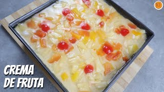 Crema de Fruta | How To Make Chiffon Cake with Custard Fruit Layer | Mortar and Pastry