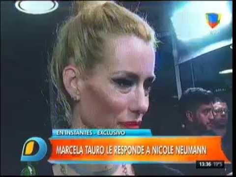 En cuestión de días, Nicole despacha la carta documento contra Marcela Tauro