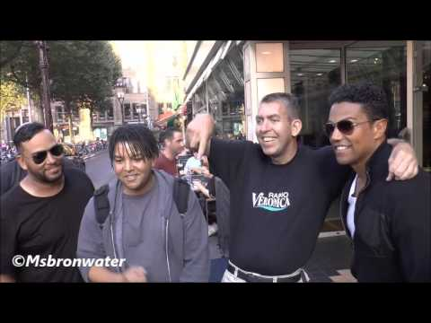3T arrival @ RTL Late Night Amsterdam Netherlands